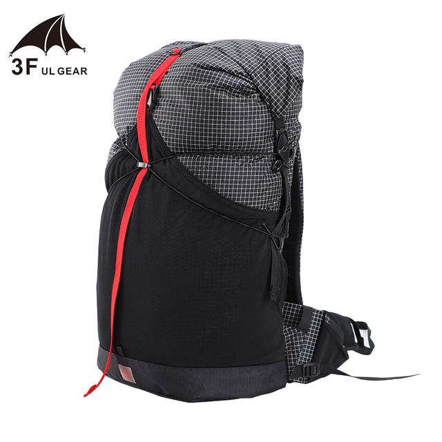 3F UL GEAR 35L Backpack XPAC/UHMWPE Waterproof Ultralight Hiking 1