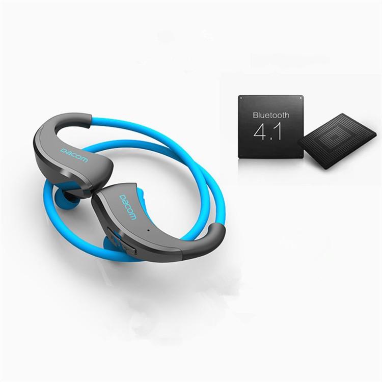 Dacom Armor Bluetooth V4.1 Stereo Headphones IPX5 Waterproof Wireless Outdoor Sports Headset Handsfree Music Earphone With Mic(17)
