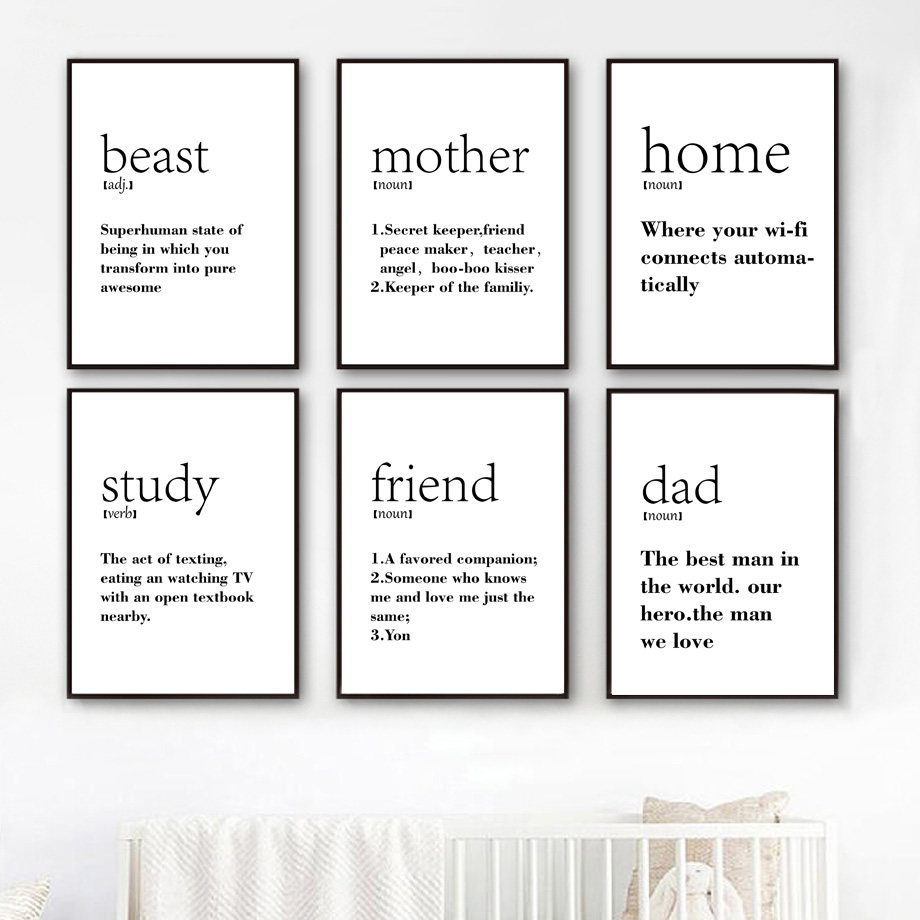 Motivational Quotes Posters And Prints Wall Art Canvas Painting