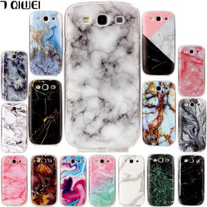 b5f7bacd701932 For Samsung Galaxy S3 Neo Case Silicone i9301 Granite Marble Back Phone  Cover For