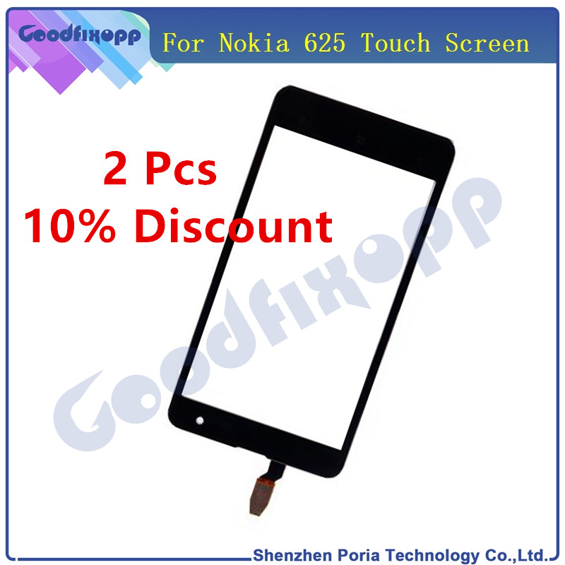 For <font><b>Nokia</b></font> <font><b>Lumia</b></font> <font><b>625</b></font> N625 <font><b>Touch</b></font> <font><b>Screen</b></font> Digitizer <font><b>Sensor</b></font> Front Glass Lens Panel Touchscreen Replacement <font><b>Touch</b></font> <font><b>Screen</b></font> For <font><b>Nokia</b></font> <font><b>625</b></font> image
