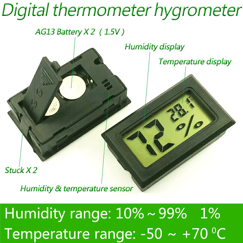 digital thermometer electronic car thermometer inst