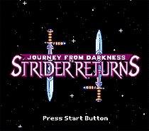 Strider Returns 16 bit MD Game Card For Sega Mega Drive For Genesis