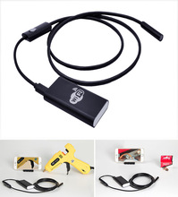 Upgrade WiFi 2.0MP Endoscope Camera iphone android Wi-Fi USB Borescope Inspection Waterproof Snake Camera
