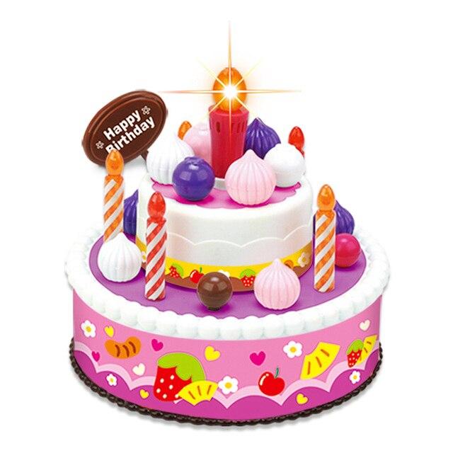 Aliexpress Buy New Kitchen Pretend Play Children Birthday Cake