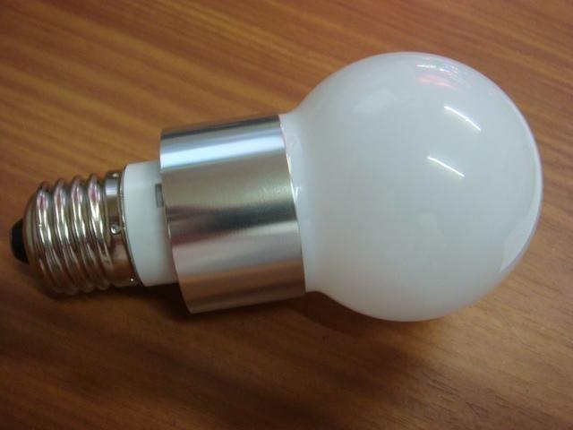 high power led bulb, E27 base;3*1W;cold white,P/N:CMR-E27G6005