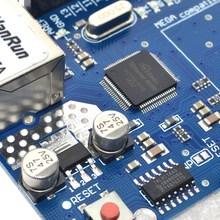 Бесплатная Доставка UNO Щит Ethernet Shield W5100 R3 ООН Мега 2560 1280 328 УНР R3