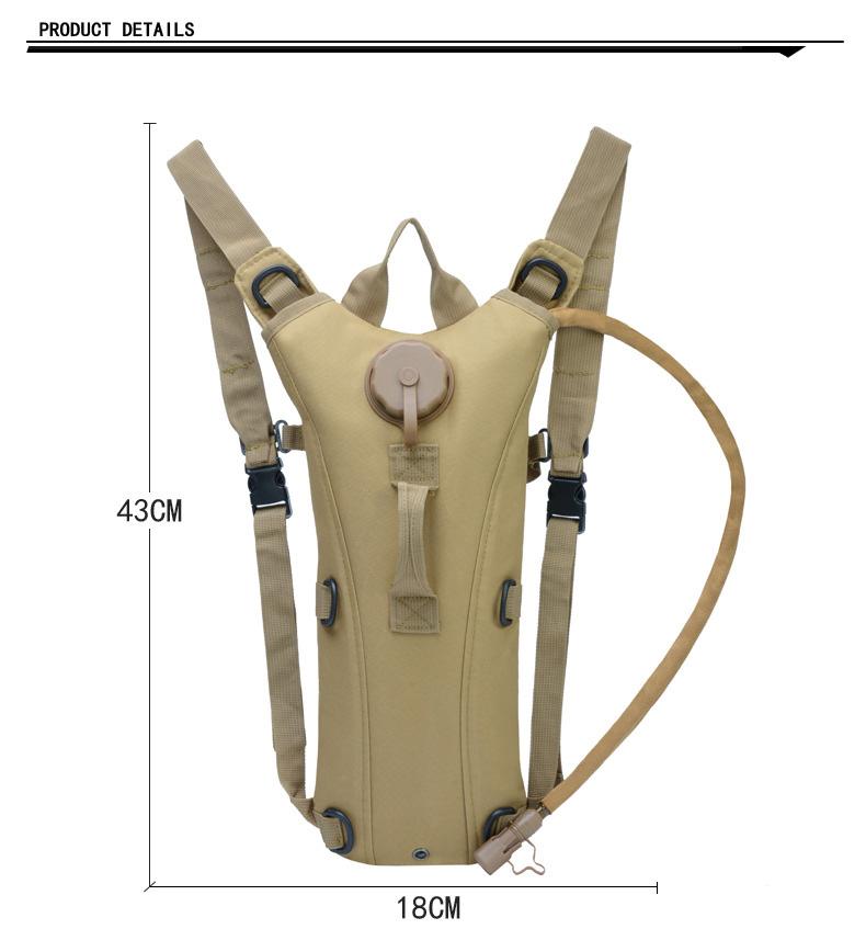 Sac à eau militaire 3L