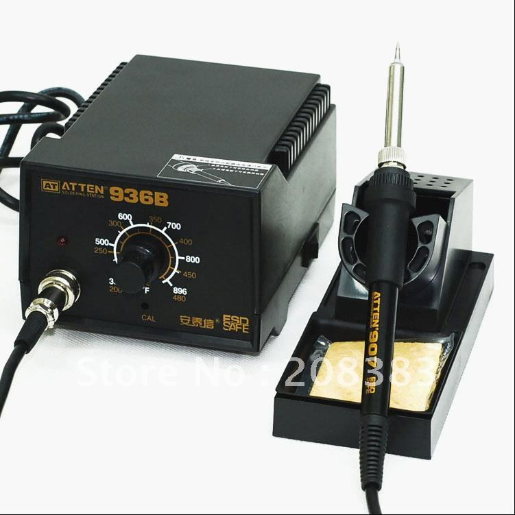 Freeshipping 121# ATTEN AT936B AT-936 50W Soldering Station Solder Iron Welding station набор бит hammer flex 203 902 pb набор no2 ph pz sl tx 12шт