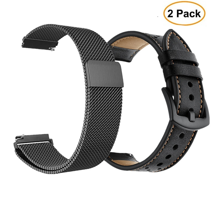 22MM 20MM Milanese Loop Strap For Samsung Gear S3 Frontier Classic Band Galaxy Watch 46mm 42mm Active 2 For Gear S2 Classic
