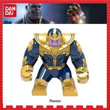 Thanos Maravilha Super-heróis Mulher Maravilha Avengers3 flash DC Batman Homem-Aranha Hulk blocos De Construção De Mini Figuras Brinquedos para legoing