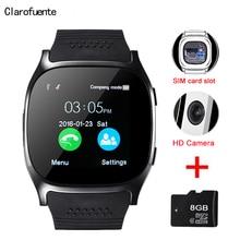2019 Latest Smart Watch Android Phone Watches Pedometer Reloj Inteligente Clock Mini Bluetooth Phone Mate GSM SIM TF Card Camera
