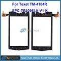 """Высокое Качество 4.0 """"Для ТМ 4104R TM-4104R Texet X-Driver Сенсорным Экраном Дигитайзер Стекла Сенсорный Замена Датчика Черный цвет"""
