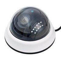 Nova 1000TVL 1/4 CMOS Cor IR CUT Dome Lente de 3.6mm CCTV Home Security Vigilância de Vídeo Da Câmera Cam para casa pessoal proteção