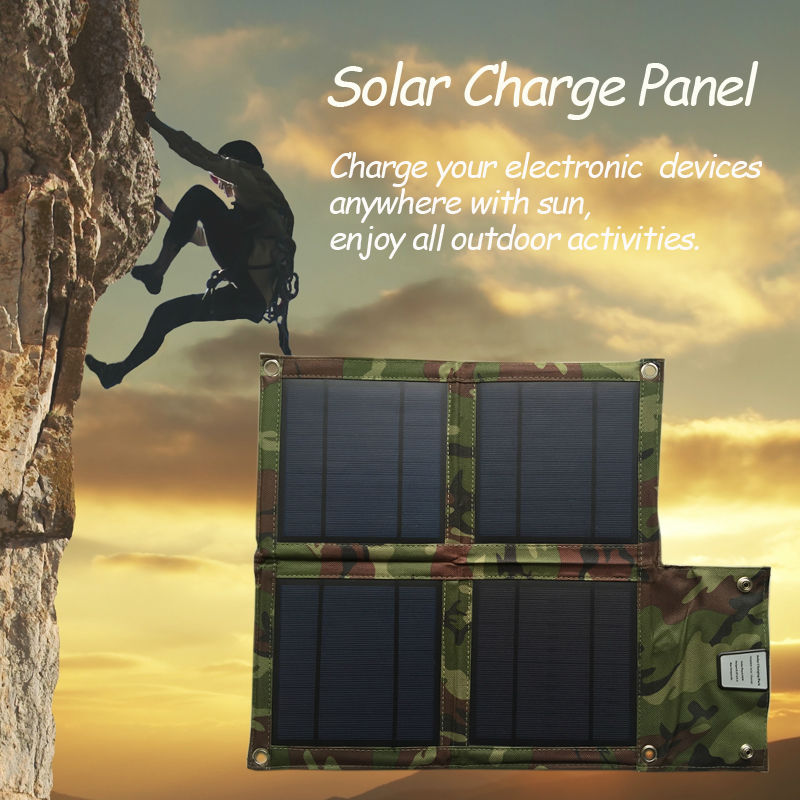 10W Portable Solar Panel Outdoors Solar Charger for iPhone Samsung HTC LG Nokia Huawei Xiaomi and more,for GPS Camp