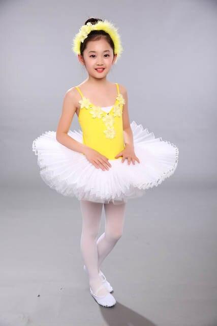 323366aff3 Crianças Collant de Balé Roupas de Dança Da Bailarina Das Meninas Vestido de  Trajes Para Meninas
