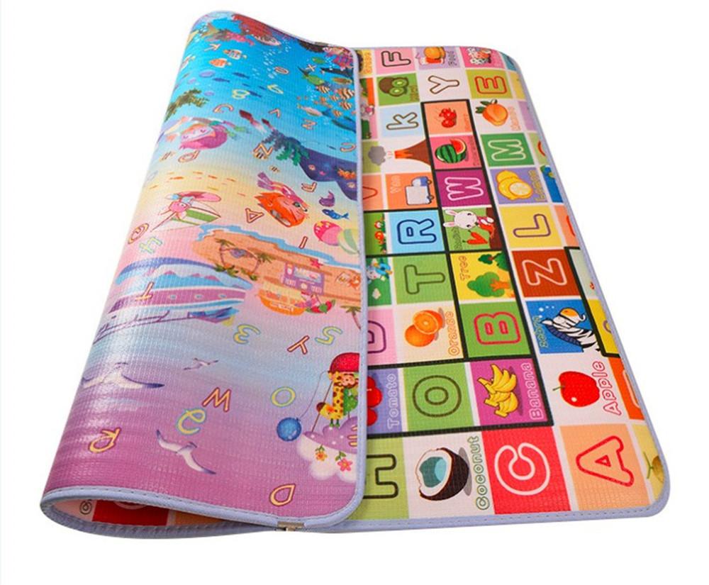 классический двухсторонняя детское ковры для игр сканирование тренажерный зал колодки нетоксичные дети коврики для пикника для игры ковры 1.8 м * 1.2 м * 0.5 см