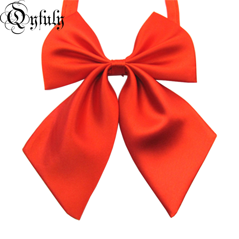 Women's Accessories Jk Bow Tie Striped Solid Uniform Collar Butterfly Cravat Japanese High School Girls Students Preppy Chic Free Of Tying A Knot Wide Selection; Apparel Accessories