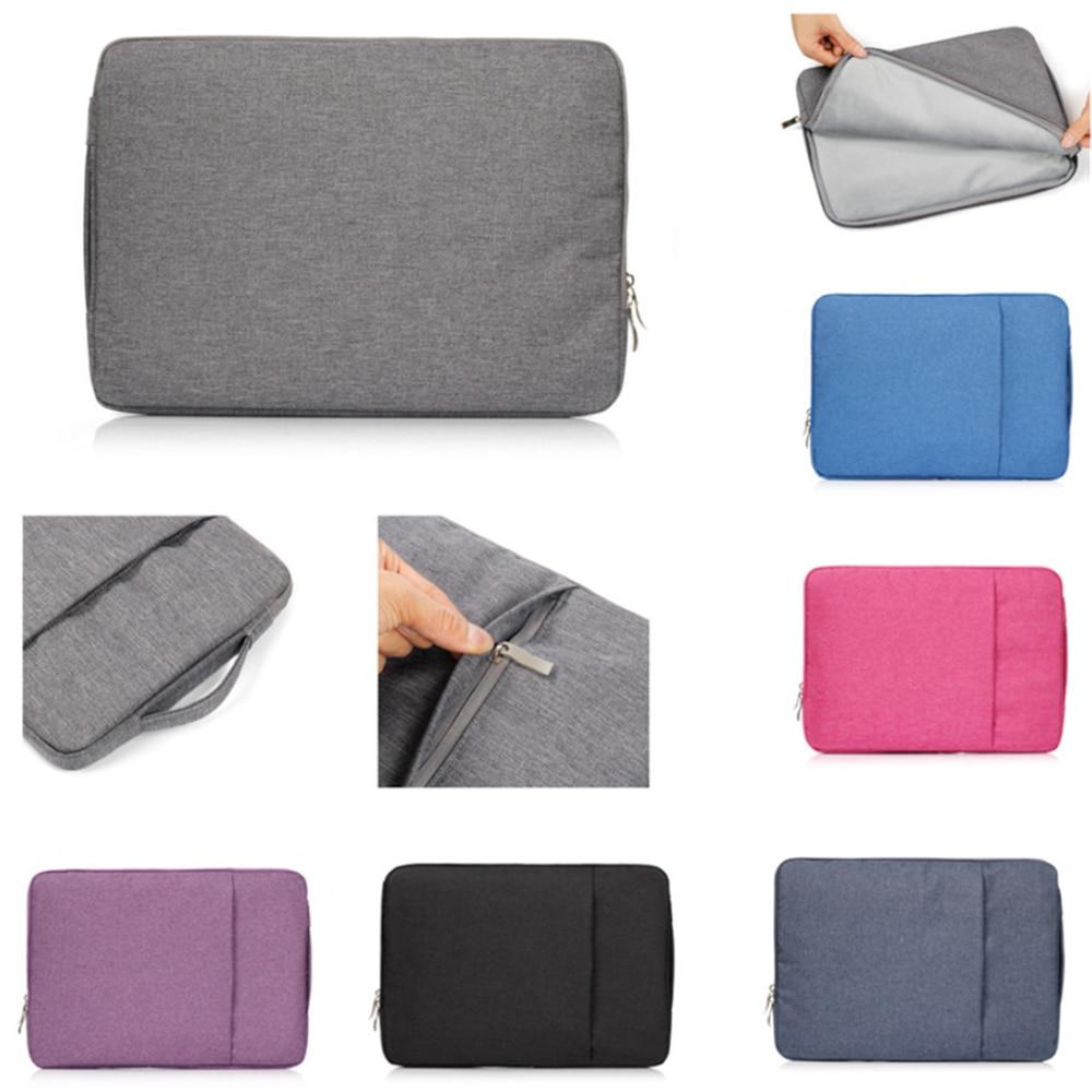 Denim Handbag Zipper Bag Case For Macbook Pro Retina Air 11 12 13 15 For Acer Asus Xiaomi