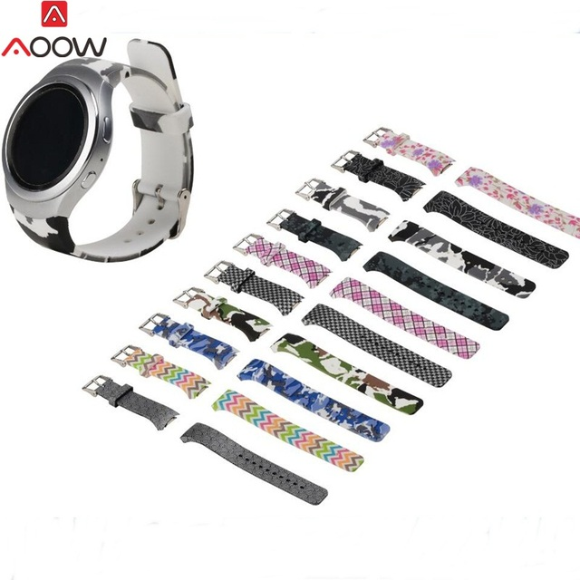 AOOW Silicone Watchband for Samsung Gear S2 R720 Replacement Bracelet Band Strap