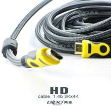 4.9FT 3M High speed Gold Plated Plug Male-Male HDMI Cable 1.4b Version 1080p 3D 2K x 4k HDTV to XBOX PS3 PS4 TV BOX
