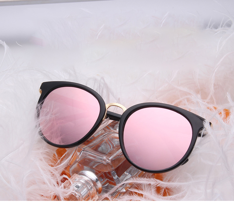 HTB1rVYpPXXXXXX8XFXXq6xXFXXXk - Cat Eye Pink Mirror Square Sunglasses 2018 New Fashion