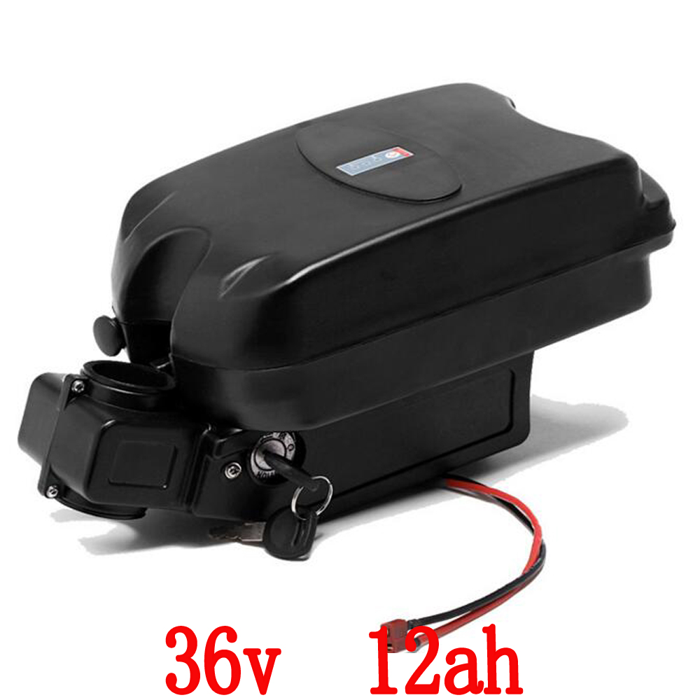 36V 12Ah Lithium Electric Bike Battery Quality Li-ion E-Bike Battery Power Rechargeable Battery Pack free customs taxes super power 1000w 48v li ion battery pack with 30a bms 48v 15ah lithium battery pack for panasonic cell