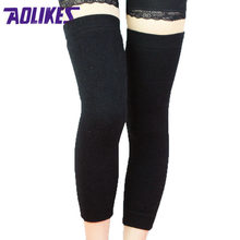 5bc5369d68 AOLIKES 1 Pair Cashmere Warm Kneepad Prevent Arthrits Cycling Yoga Wool Cotton  Knee Support Brace Leg
