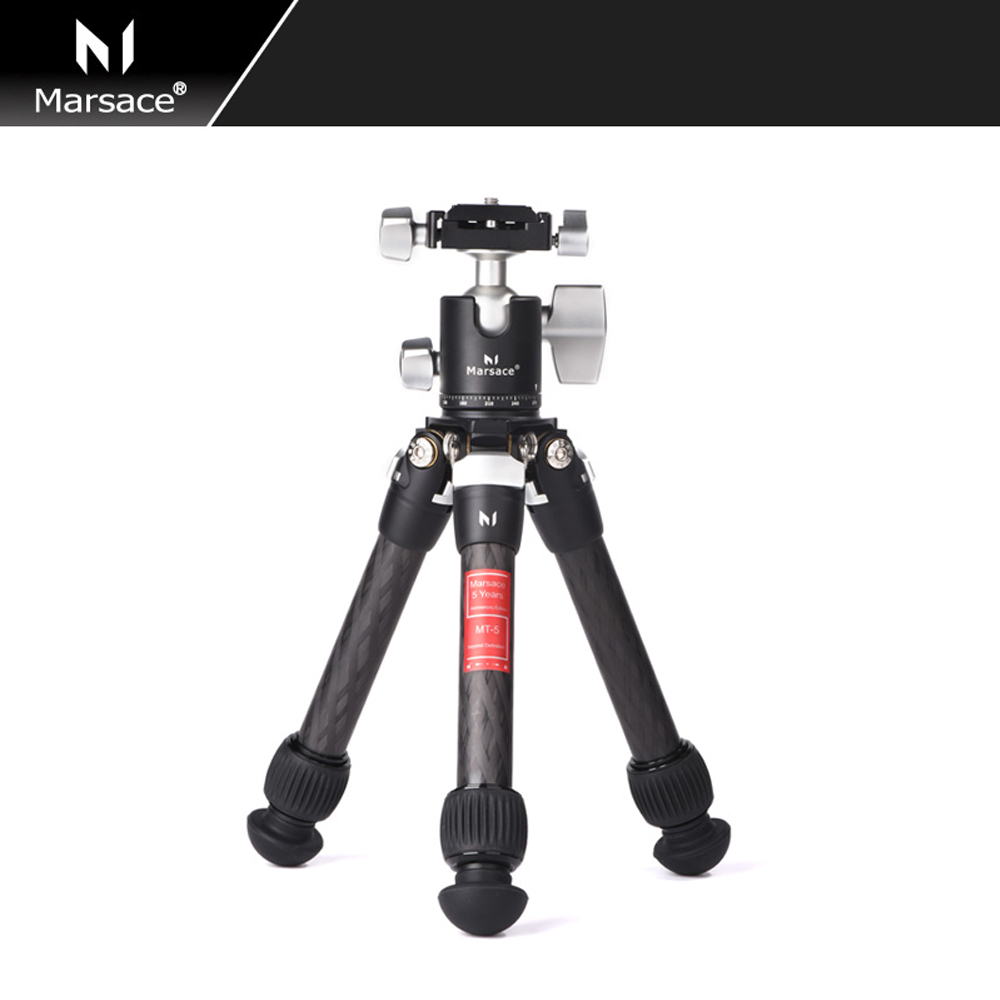 Marsace MT 05 High Bearing Desktop Bracket Mini Tabletop Tripod and Ball Head For DSLR Camera Mirrorless Camera Smartphone-in Live Tripods from Consumer Electronics    1
