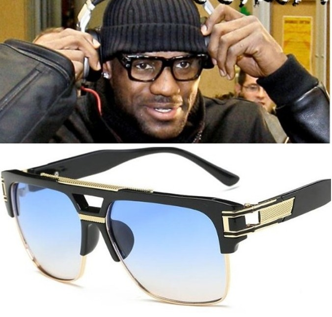 Buy r20 2017 lebron james sunglasses men women brand designer sun glasses for Celebrity watches male 2017