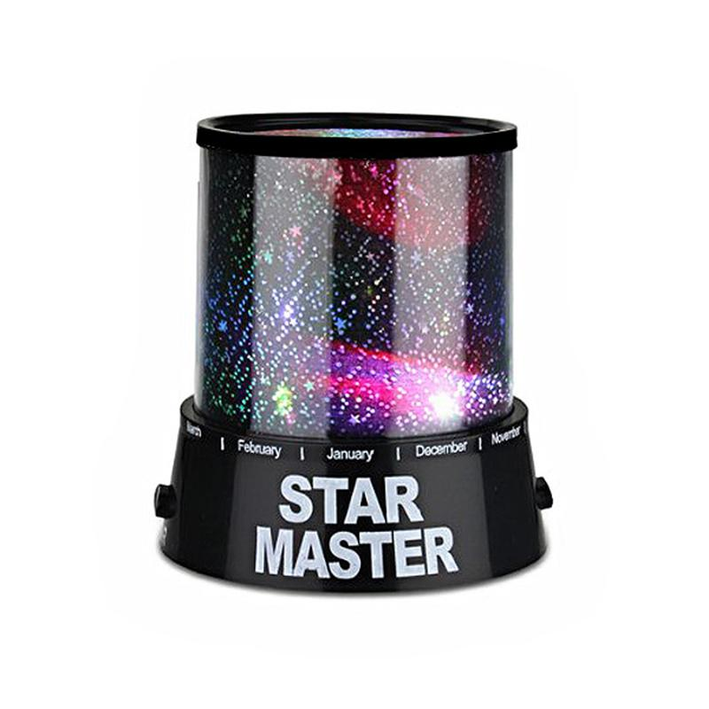 Fantastic Colorful Starry Sky LED Projector Twilight Romantic Night Light Lamp(Black) книги эксмо безумная звезда the light fantastic