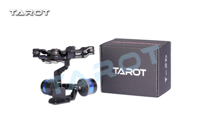 Tarot 2-Axis brush gimbal With gyroscope for MIUI / millet motion camera