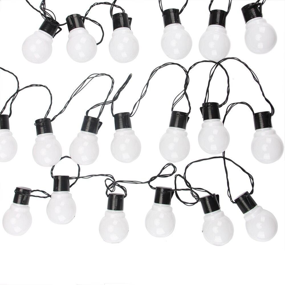 10 M 38 Led Globe-string Licht Außen Lichterkette Girlande G50 Lampen Garten Terrasse Hochzeit Party Weihnachten Dekoration Licht Kette