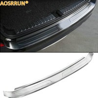 AOSRRUN Stainless steel car trunk boot protection plate car accessories For BMW X3 F25 20i 28i 35i 2014 2015