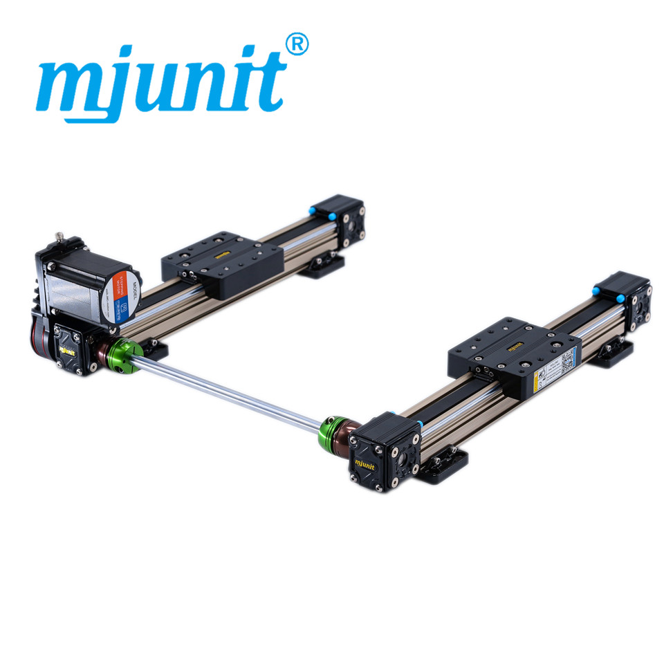 mjunit MJ40 Slide Block and Linear Guide Rail for automatic machines with 500mm stroke 2 rails цена