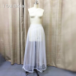Image 4 - One Size Fit All Bridal Petticoat Buddy Drop Shipping Wedding Dress Gather Skirt  Underskirt Save You From Toilet Water