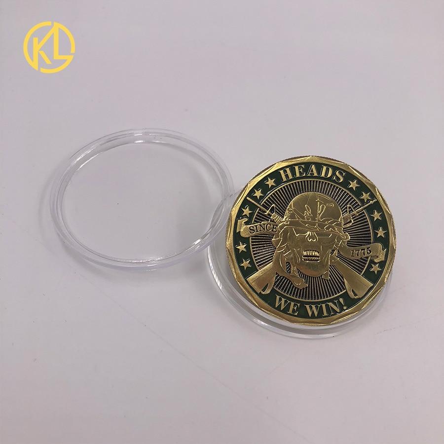 CO012 позолоченный эфириум классическая монета памятная монета художественная коллекция подарок физическая имитация из металла вечерние украшения для дома - Цвет: CO-018-1