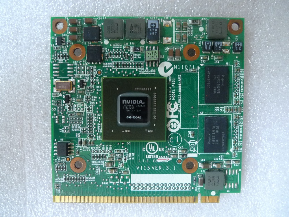 Nvidia Graphic Vga Card Geforce 9300m Gs 9300mgs Mxm Ii Ddr2 256mb G98-630-u2 For Acer Aspire 5520g 6930g 7720g 4630 7730 Laptop Extremely Efficient In Preserving Heat Computer Components Motherboards