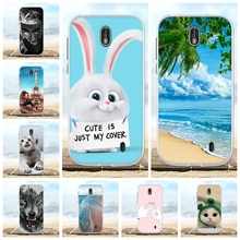 все цены на For Nokia 1 Protective Case Ultra Slim Soft TPU Silicone For Nokia 1 Phone Cover Cute Animal Patterned For Nokia 1 Coque Bumper