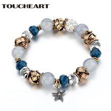 Toucheart новинка Модный кулон со звездой Хрустальные стеклянные