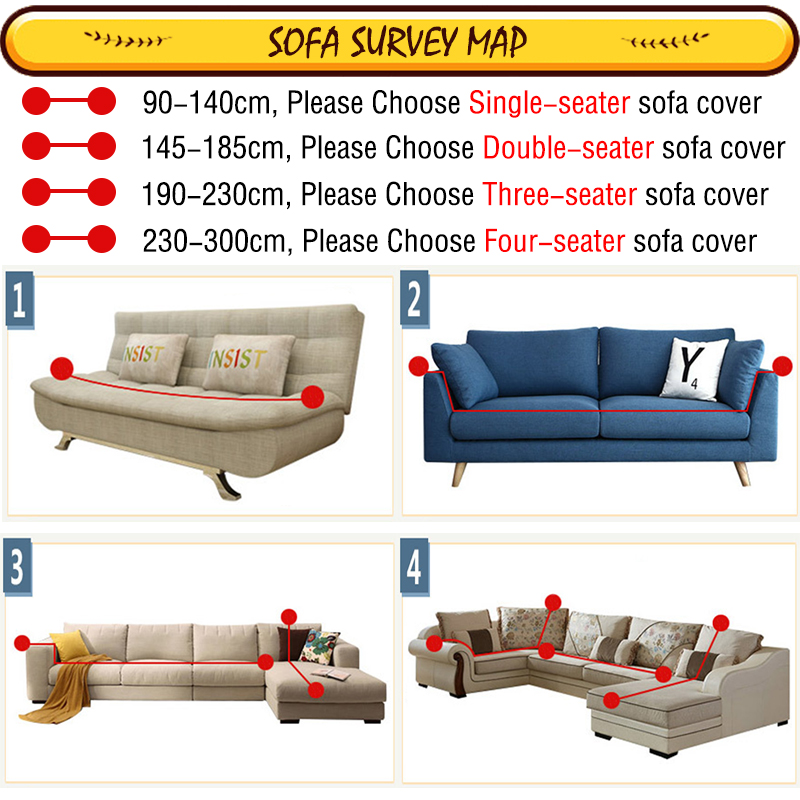 Peachy Us 16 65 50 Off Auchan Gold Protector Sofa Cover Sofa Slipcover Furniture Couch Cover For Sofa Covers For Living Room Corner Sofa Cover Elastic In Machost Co Dining Chair Design Ideas Machostcouk