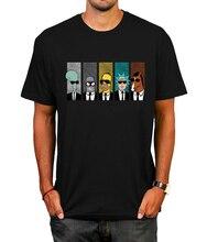 font b Anime b font rick morty t shirt Cool TV Tee Men Tees Shirt