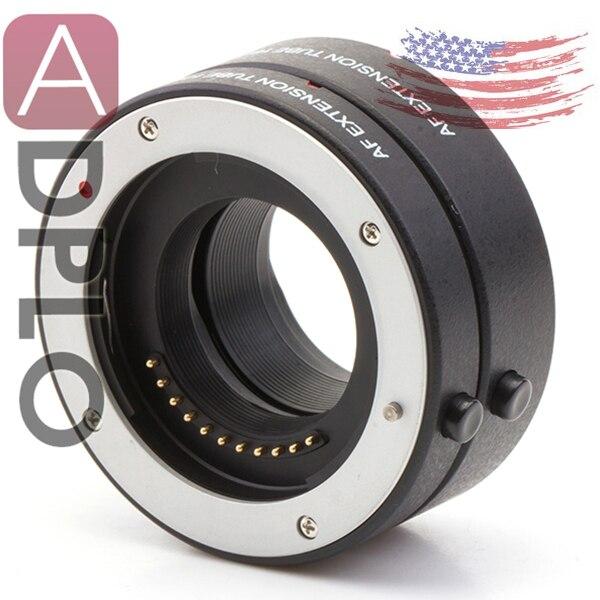 Pixco Autofocus Macro tube Suit for Micro 4/3 Camera LUMIX GH4 GM1 GX7 OM-D E-M1 E-M5 Pen E-PL7 E-PL6 E-P5