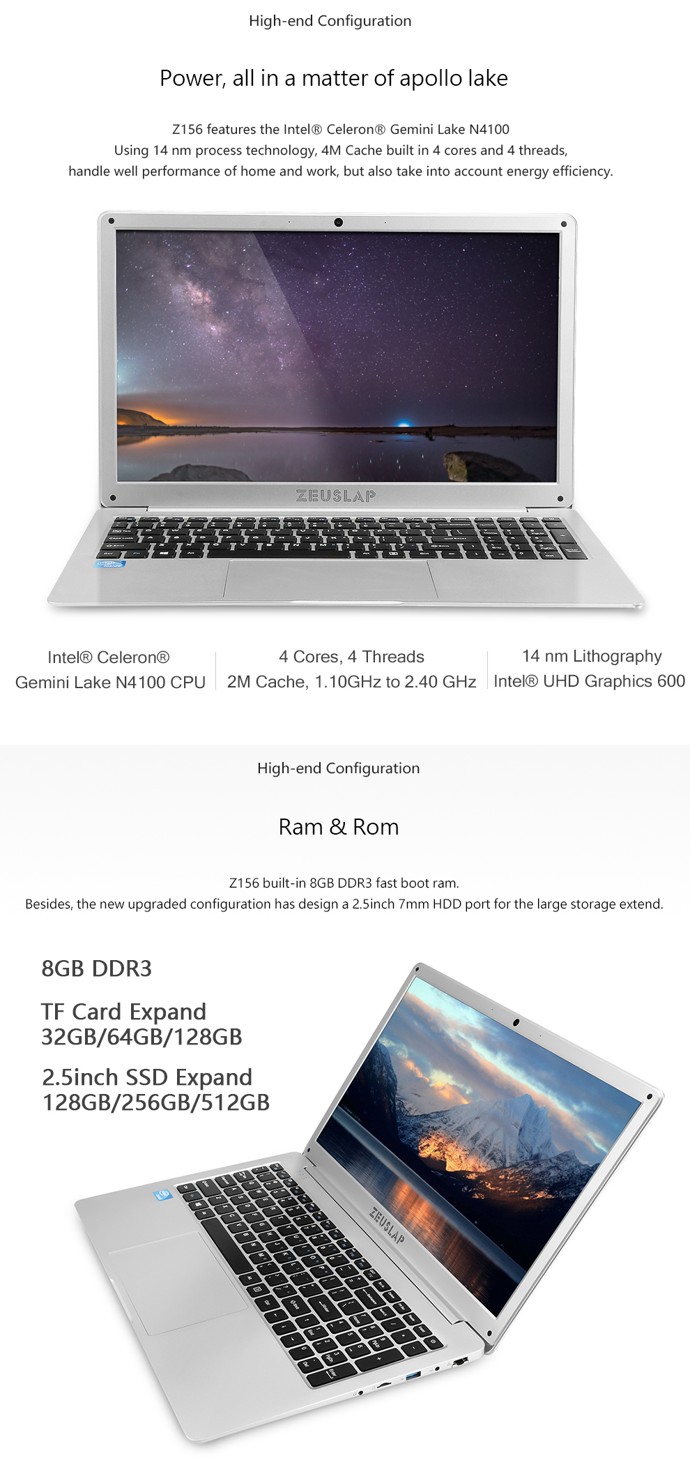Z156 8+SSD 2