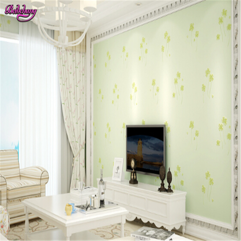 beibehang papel de parede 3D three-dimensional non woven wallpaper Korean pastoral warm and simple living room bedroom wallpaper beibehang papel de parede 3d dimensional relief korean garden flower bedroom wallpaper shop for living room backdrop wall paper
