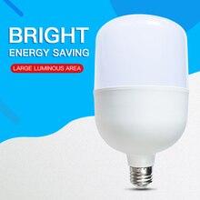 Bombilla LED inteligente de alto brillo, 5W, 10W, 15W, 20W, 30W, 40W, 50W, 60W, E27, CA de 220V, 240V, IC, bombillas LED para lámpara