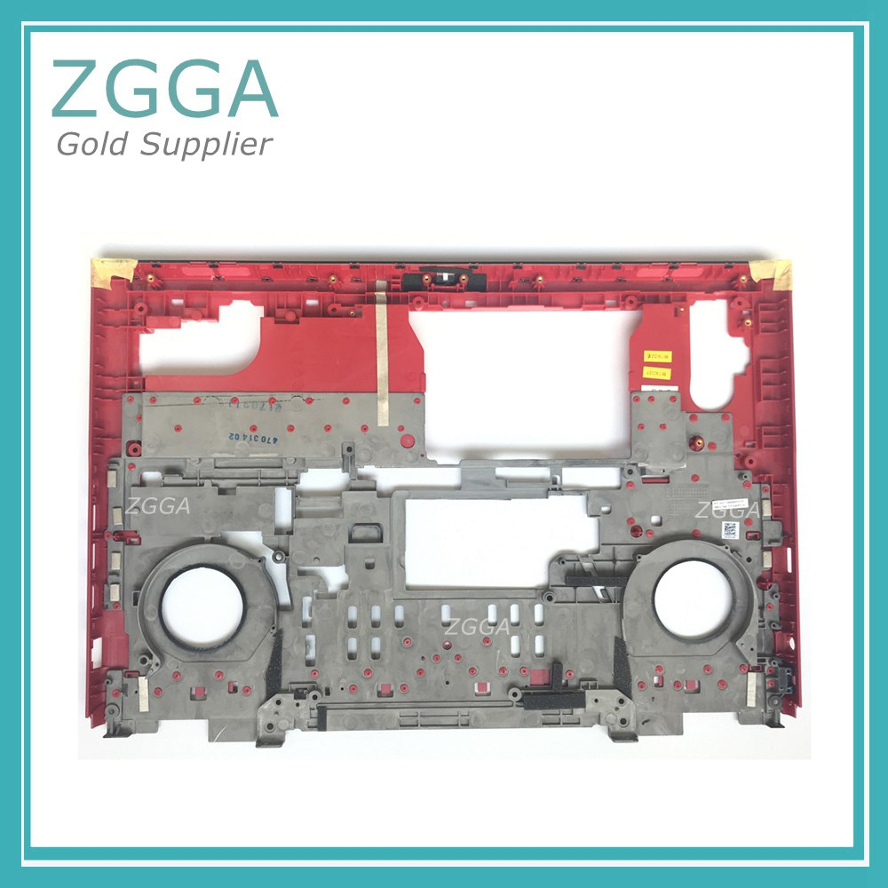 Original NEW For DELL Inspiron 15-7000 7566 7567 Laptop Replace Case Bottom Chassis Cover Base Lower Shell 5H2HJ 05H2HJ Red new for dell inspiron 15r 5545 5547 5548 5549 laptop bottom case back cover replace e shell 01f4mm black page 5