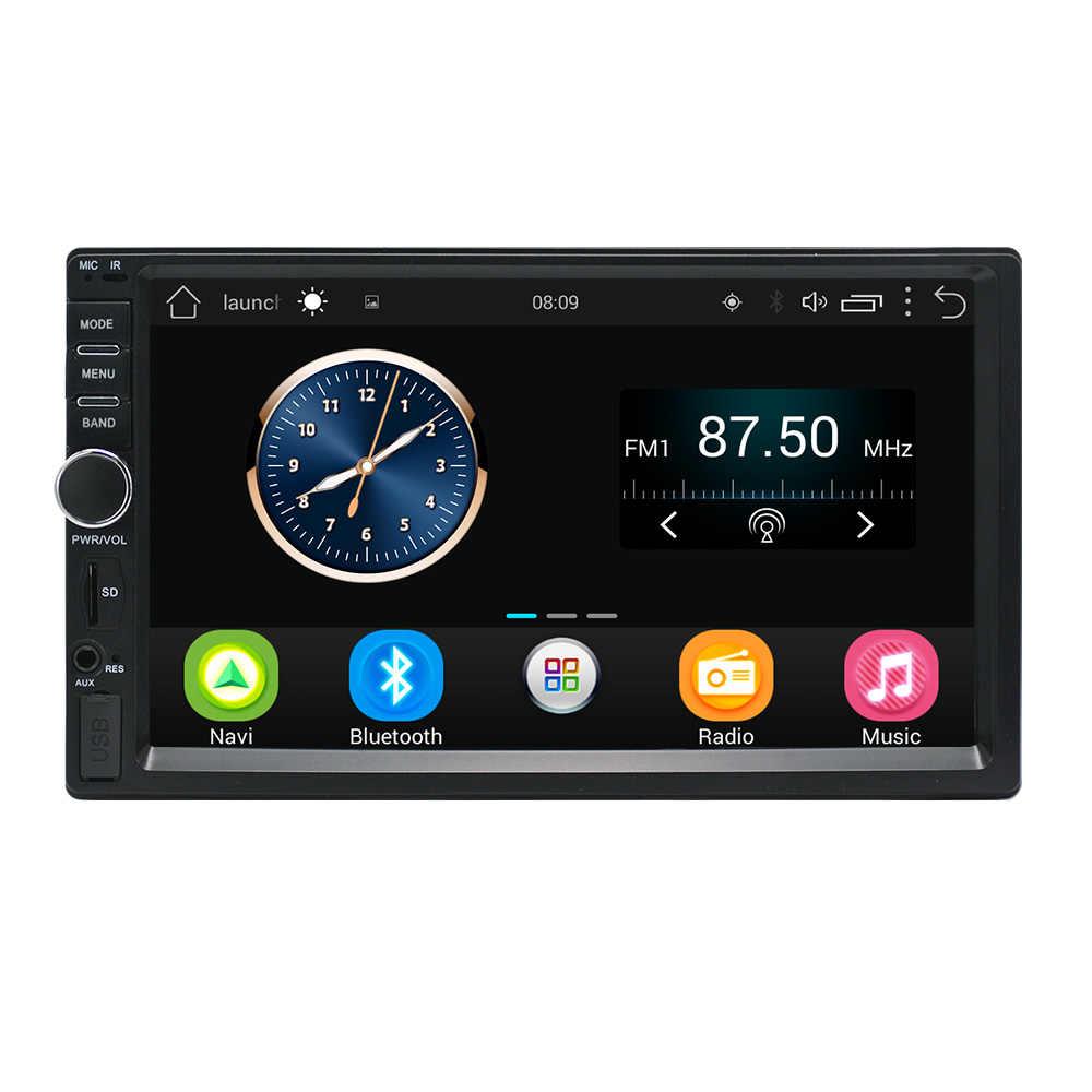 Hikity 7 インチのアンドロイド Gps ナビゲーション 2 Din タッチ USB 車のマルチメディアプレーヤーオーディオプレーヤーサポートリアリアビューカメラ