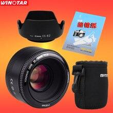 YONGNUO YN50mm F1.8 YN EF 50 мм f/1.8 AF/MF линзы большой апертурой Автофокус для Canon EOS DSLR камер