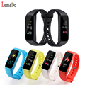Lemado L30T Bluetooth Sports Smart Bracelet Dynamic Heart Rate Monitor Pedometer Fitness Tracker Smartband for Android iOS Phone